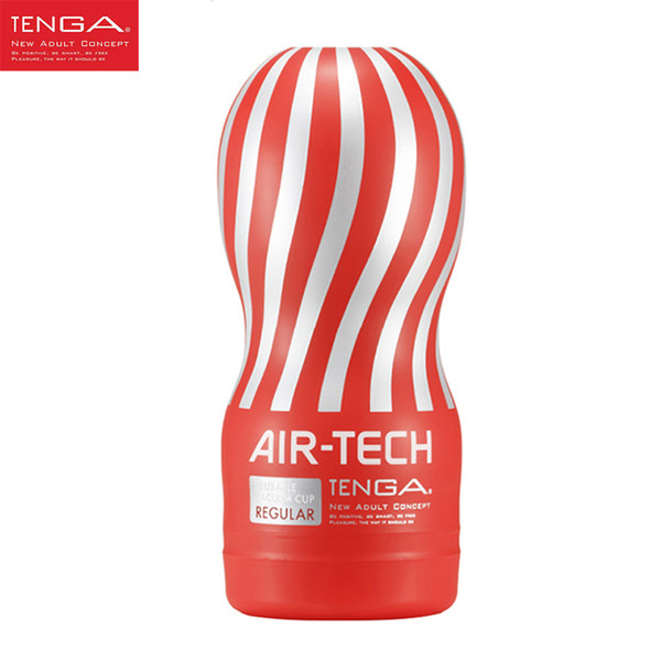 TENGA AIR-TECH Reusable Vacuum Pussy Sex Cup Vagina Real Pussy Male Masturbator Cup Sex Toys for Men Sex Products Y18982802