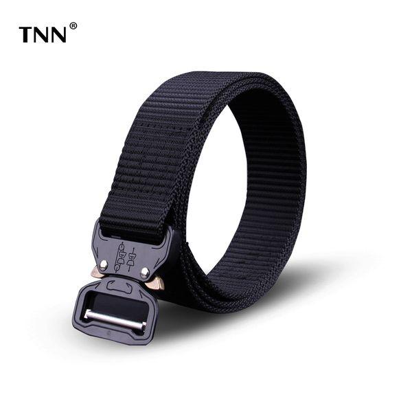 TNN 2018Tactical Gear Heavy Duty Belt Cobra Nylon Metal Buckle Swat Molle Padded  Waist Belt Tactical Hunting Accessories