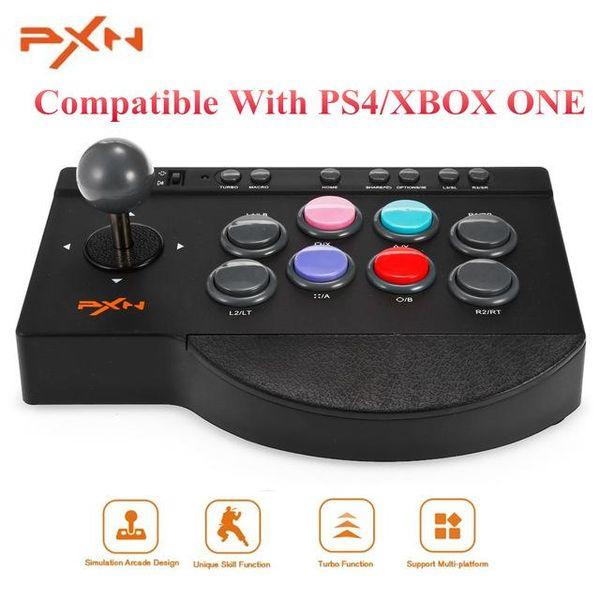 PXN Contrôleur de jeu mobile USB filaire Arcade Joystick Manette de jeu Contrôleur Gampad Contrôleur de jeu poignée pour Smartphones Téléphone PC