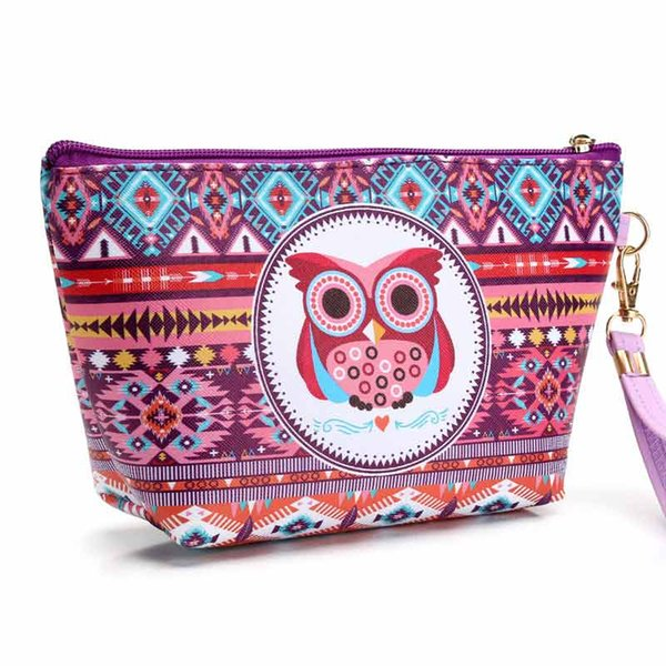 Pink sugao 2018 new style print large capacity makeup bag cosmetic bags for travel storage organizer and toiletry bag