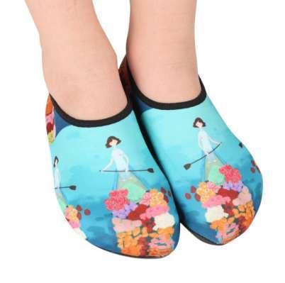Niños Niños Zapatos de agua Antideslizante Secado rápido Playa liviana Zapatos de natación en la playa Zapatillas de buceo Medias de buceo Zapatos de snorkel