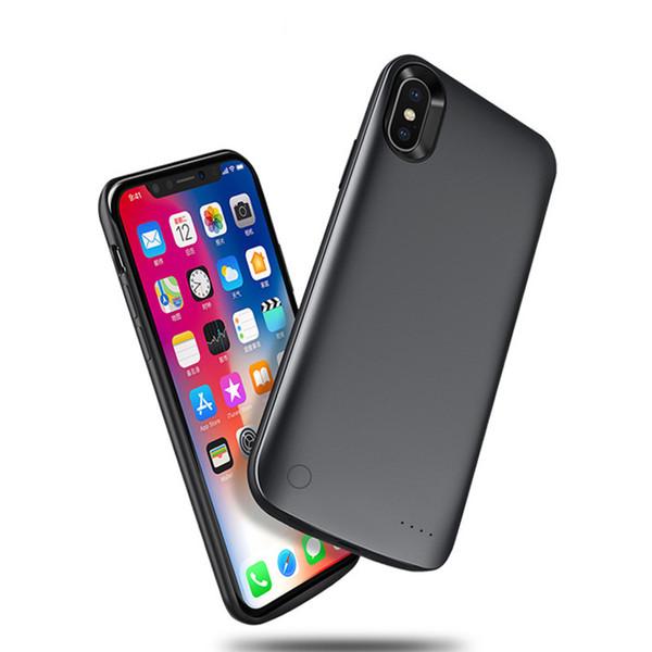 iPhone X Специальный Задний Клип Батарейный Чехол Аккумуляторная Внешняя Батарея Портативное Зарядное Устройство Защитное 3800 мАч 5,8 дюймов 13 мм