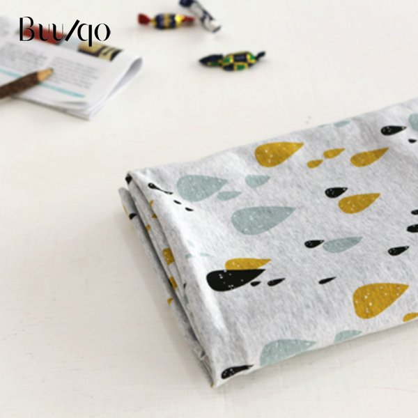 50*40cm Printed Rainbow Kids knitted Cotton Fabric,Patchwork Cloth,DIY Sewing Fat Quarters Material For Baby&Child