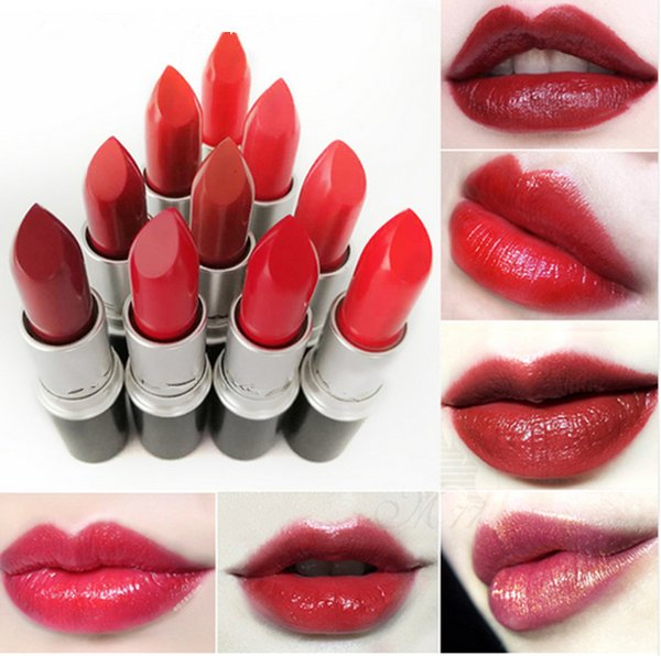 free shipping! Brand M@C 24 colors Matte lipstick have English name(24pcs/lots)