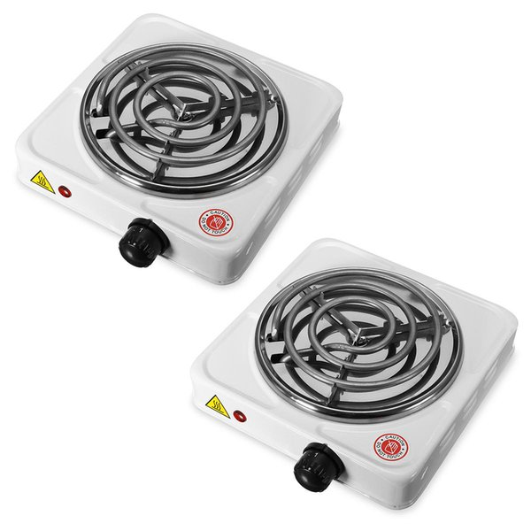 Outdoor 1000W Electric Stove Hot Plate Burner Travel Cooking Appliances Portable Warmer Tea Coffee Heater for2-3 person