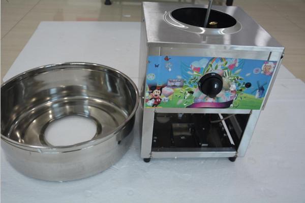 Fancy Art Edelstahl Kommerzielle Gas-Zuckerwattemaschine