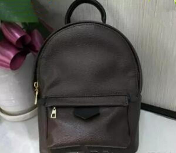 2018 High Quality Luxury Designer Womens Women Travel Backpack Backpacks Mini Stylish leather Bag Back Pack Bagpack
