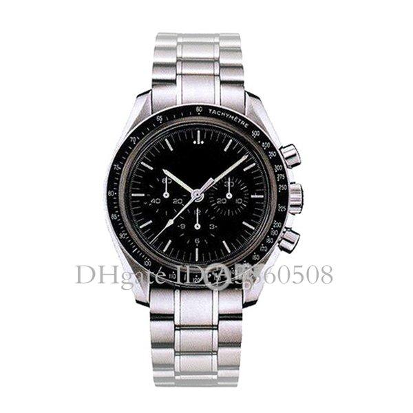 China de lujo de los hombres de alta calidad VK Relojes Maestro de cuarzo reloj para los hombres de acero inoxidable correa de reloj de negocios cronografía