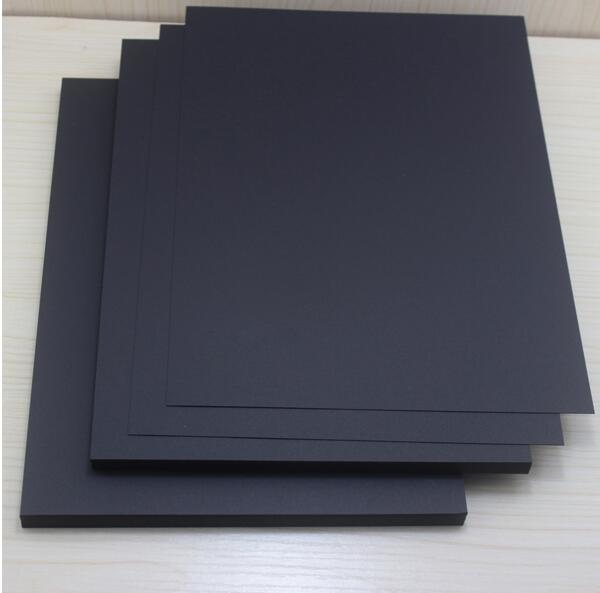 Migliore vendita 250gsm A4 Vintage vuoto rosso nero carta Kraft Note carta graffiti fai da te dipinto 100 pz / lotto di alta qualità