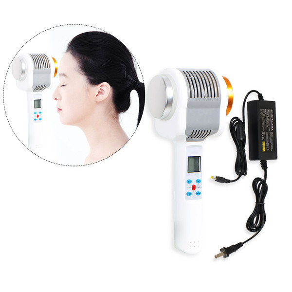 Best Cold Hammer Warm Treatment Warm Face Hammer massager Salon Cryotherapy cold Therapy Martello ad ultrasuoni Apparecchiatura di bellezza Anti-aging