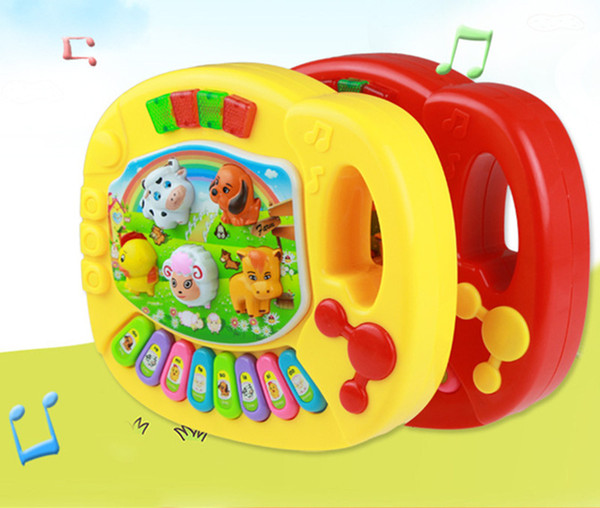 Baby Musical Toys Educational Animal Farm Piano Developing Musical Toys with Animal Sound Cute Mini Sounding Toys New Brand Brain Creative