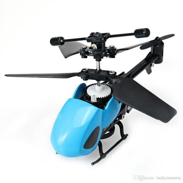 QS Mini RC Helicopter 2.5CH Micro Infrared Remote Control Helicopter with Gyroscope RC Drones Aircraft gift Toys for kids
