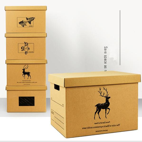 Big Sundries home clothes book storage box underwear case office organizer box table document organizer book holder