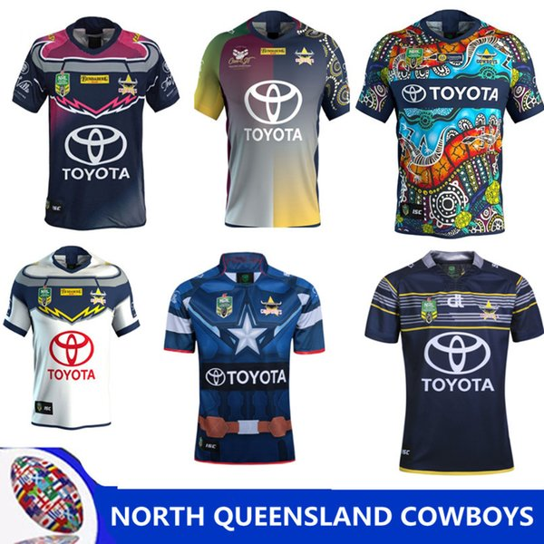 NORTH QUEENSLAND COWBOYS 2018 THURSTON TESTIMONIAL JERSEY Camouflage Rugby jerseys 17/18 thurston RRWC NRL Super North shirts size S - 3XL