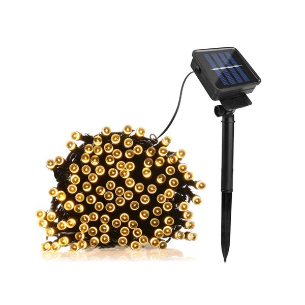 50/100/200Leds Led Solar Lamp Fairy String Outdoor Decorative Holiday Lights For Garden,Christmas Tree,Lawn,Landscape