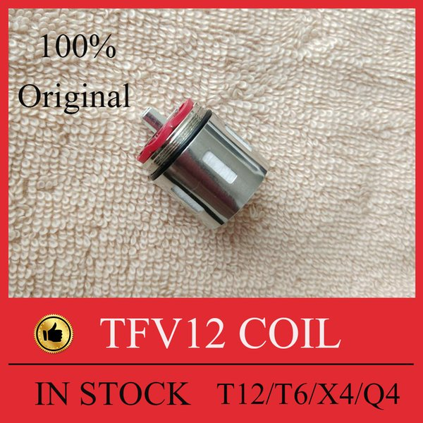 100% Original TFV12 Coil Head Replacement T12 T6 X4 Q4 Atomizer Heads Beast Cloud Monster Vape Authentic