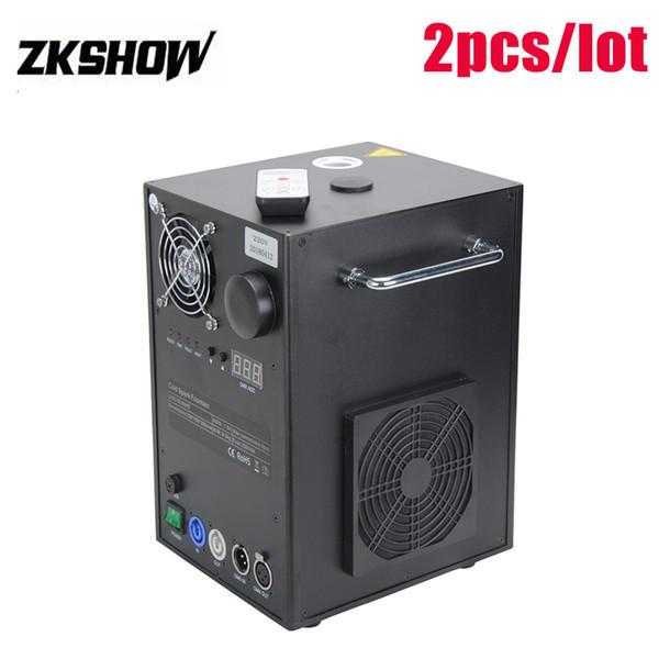 80% Discount Luces Disco 1-5M Cold Firework Flame Machine Wedding Fountain Smokeless DMX Pro Sound Stage DJ Lighting Spray Equipment 400W