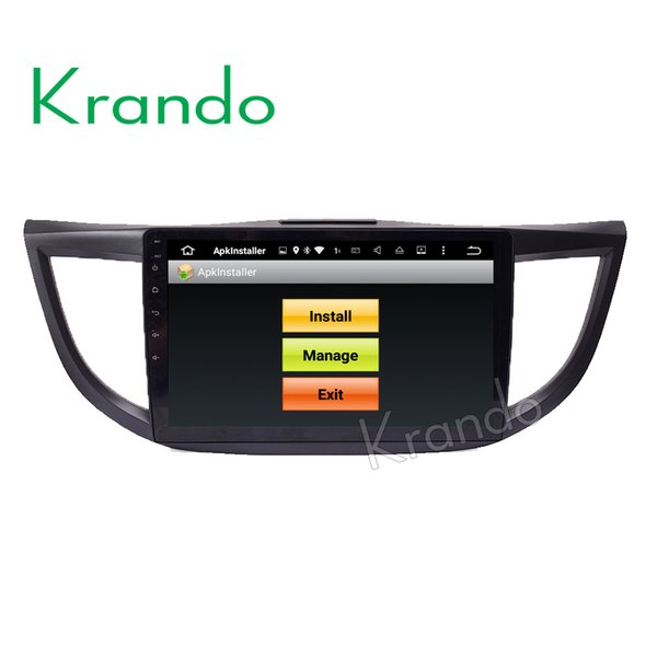 "Krando 10.1"" Android 7.1 car dvd multimedia system for Honda CRV 2012-2015 audio radio gps navigation palyer WIFI 3G DAB+"