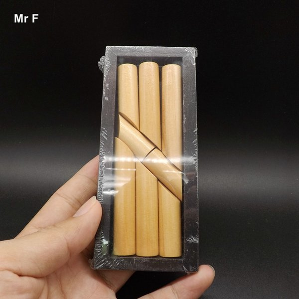 Eight Block Stick Magic Box Wooden Funny Game Immortal Cross The Sea Baby Gift Kid Toy Teaching Toy Fun Gift Game Kid
