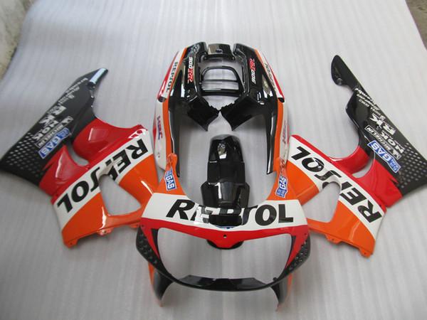 Hot sale fairings for Honda CBR900RR CBR 893 1996 1997 red white black fairing kit CBR893 96 97 CC25