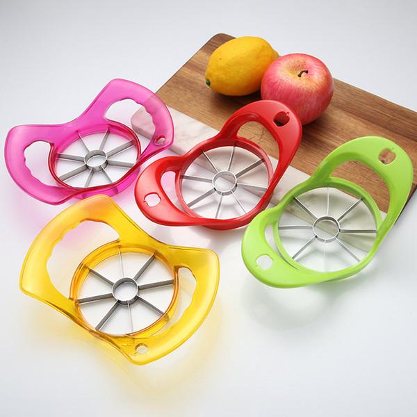 top popular Kitchen Gadgets Corer Slicer Easy Cutter Cut Fruit Knife Cutter for Apple Pear K3021F Free Shipping 2019