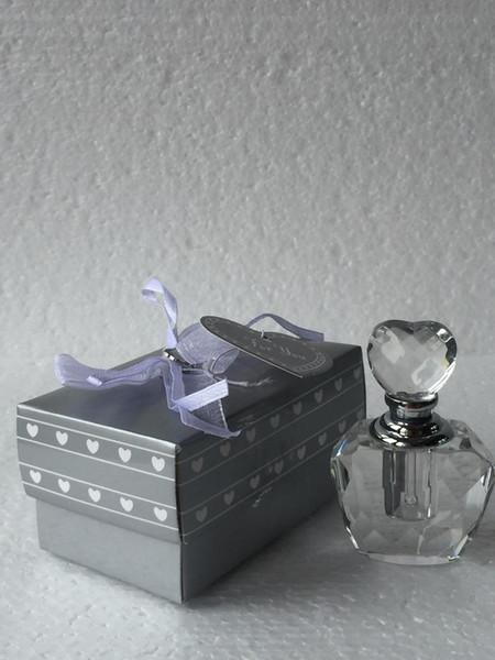 Atacado K9 Garrafa De Perfume De Cristal De Cristal Frasco de Perfume Favores Do Chuveiro Bridal Bottle Perfumado e Presente Para Convidado