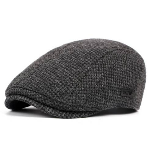 Brand England Wool Beret Hat Boina Men Women Knitted Flat Snapback Cap Classic Vintage Spring Autumn Newsboy Ivy Hat Baret