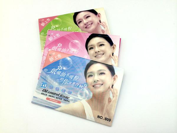 zouyesan Free Shipping 2019 Facial Oil-absorbing Paper Control Oil-absorbing Paper Paper Facial Tissue 50 Piece