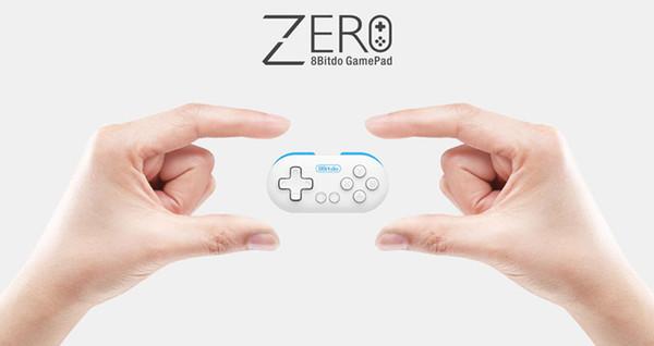 8Bitdo Null Mini Leichte Drahtlose Bluetooth V2.1 Game Controller Gamepad Joystick Selfie Für Android IOS Fenster Mac LED-Modus