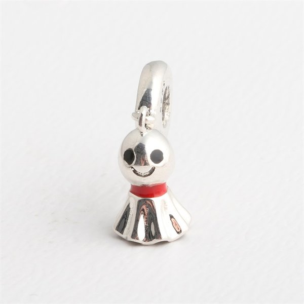 Asian Sunny Doll key charms silver beads S925 silver fits for pandora style bracelet free shipping H8ale