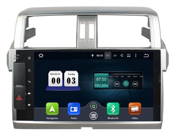 4G 32G 8Core 10.1 inch Android 8.0 Car Audio for Toyota Prado 2014 2015 Stereo Vedio Headunit Multimedia Radio Gps Navi