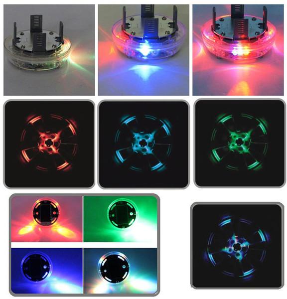 15 Mode Energie Solaire LED Voiture Flash Auto Roue Hubcap Néon DRL Lumière De Jour Lumière Lampe Accessoires De Voiture Roues Lampe