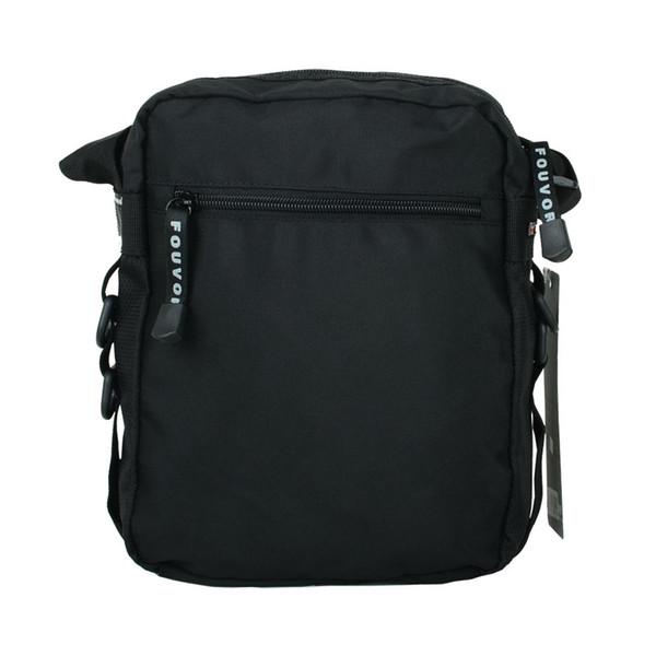 Genuine men's bag shoulder bag Korean version of the tide men's casual sports waterproof Oxford cloth Messenger bag vertical backpack