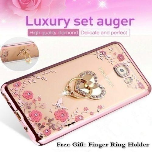 10pcs wholesales hot sell E269 2018 Luxury Diamond Flower Plating Soft TPU Phone Case For iPhone 6 7 8 X Plus