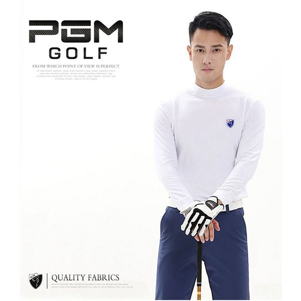 PGM Golf T shirts for Men Long-sleeved T-shirt Warm Clothes Spring Autumn Winter Outdoor Training Garment Sports Golf Clothing