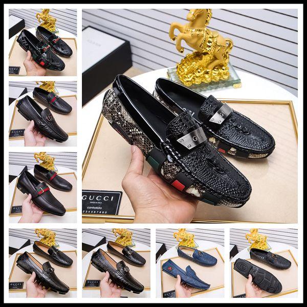 Wholesale Gold Top and Metal Toe Men Velvet Dress shoes italian mens dress shoes Handmade Loafers Designer Shoes Size 38-45