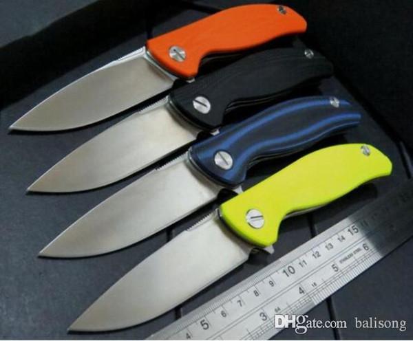 Широгоров F3 Флиппер нож D2 лезвие G10 ручка кемпинг охота складной нож xmas подарок ножи 1 шт.