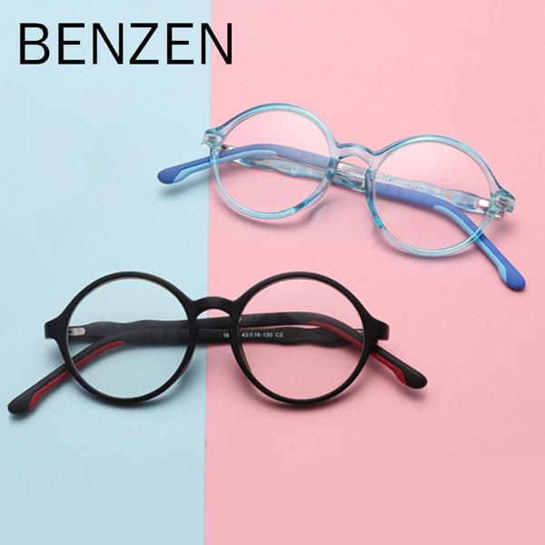 BENZEN Anti Blue Rays компьютерные очки дети синий свет фильтр компьютерные игровые очки мальчик девочка UV400 с case 5130