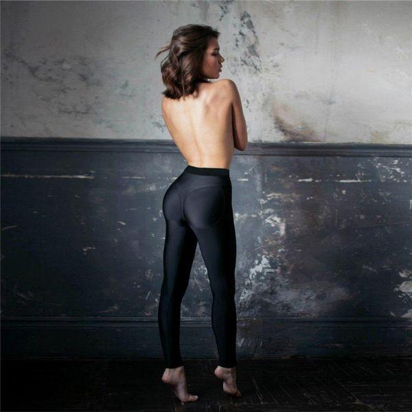 eeba2ac11b The new 2018 spring and autumn hot female wear fitness pants, elastic tight yoga  pants