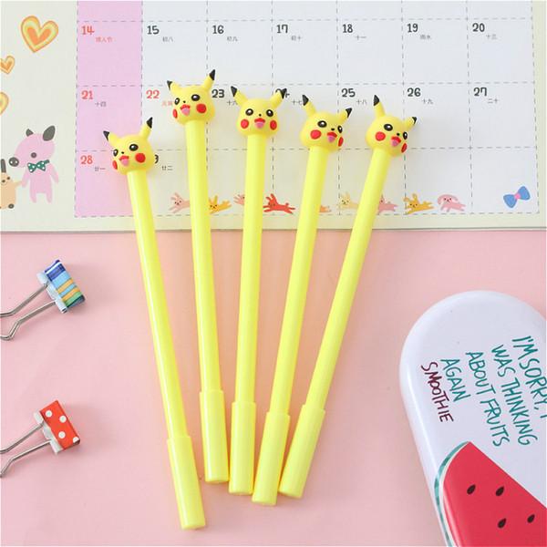 1 stücke / verkauf 0,5mm Nette Kugelschreiber Kawaii Yellow Elf muster Kreative Kugelschreiber Für Büro Schule Schreibwaren Schreibwaren