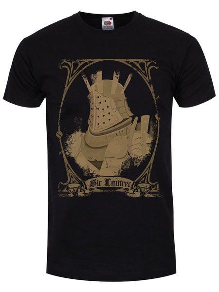 Sir Lautrec Men's Black T-shirt Men T Shirt Great Quality Funny Man Cotton 2018 New 100% Cotton T-shirts Men