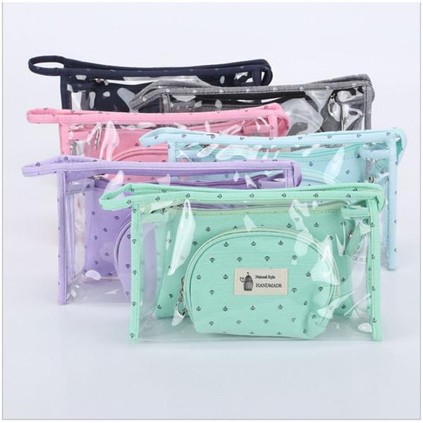 Travel Set Women Waterproof Storage Bags Wash And Rinse Drawstring Outdoor Toiletry Fashion Organizer Handbag Cosmetic Bag 12 5ty jj