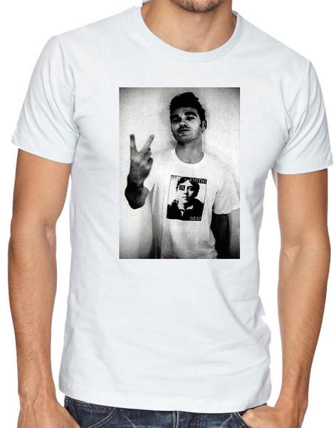 Die Smiths Morrissey Steven Patrick 70er Jahre 80er Jahre Rock Männer Frauen Unisex T-Shirt 169 2018 Neue Ankunft Herrenmode Top Tee