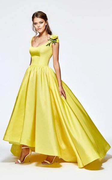 0382f0211344 Evening dress Long Dress Yellow Ball gown Backless Sexy Dazzing Customable  All Sizes Cool Sexy Dazzling