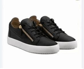 High quality free shipping black crocodile grain leather for men's and women's shoes,high-level fashion sneakers fafa3