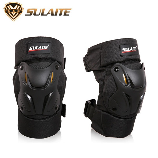SULAITE Motorcycle Bicycle Cycling Bike Racing Knee Protector Tactical Skate Protective Ski Skateboard BMX Knee Pads Guard