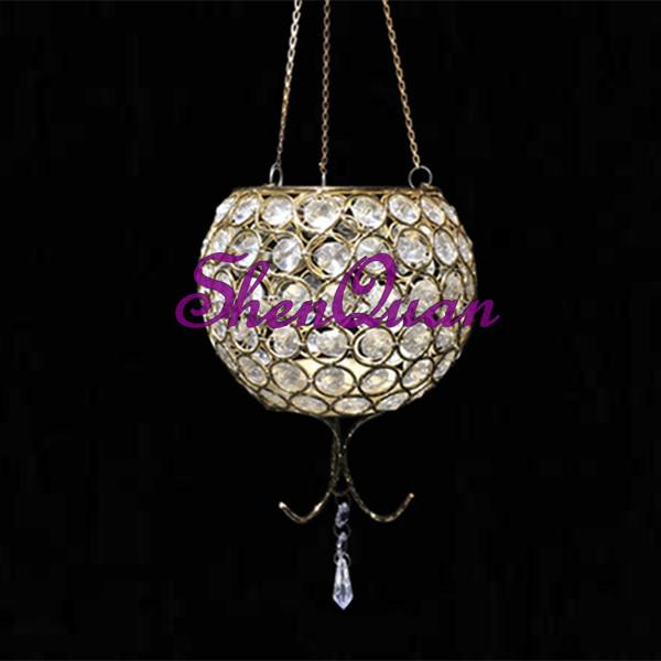 wholesale glass hanging candle holder/candle holderstrick,hanging votive candle holder for centerpiece for event party