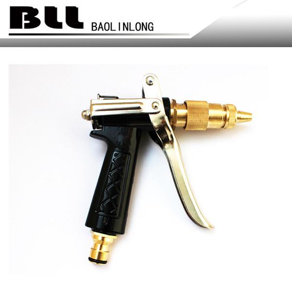 best selling BLL Multi Function Brass Adjustable Copper Hose Spray Nozzle Gun Garden Hose Water Pressure Guns For Garden Watering Cars Vehicles Washing