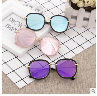 Neue Kind-Sonnenbrille-Mode-runde Jungen-Mädchen-Sonnenbrille modische große Rahmen-Eyewear-Baby-Kinderbrillen-Schutzbrillen