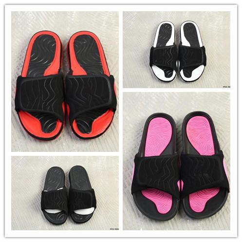 Wholesale new design 4 IV Rubber Hydro Slippers high quality 4s red white black pink sandals summer Slipper with Box size 5.5-11